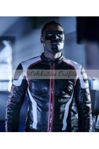 Mister Terrific Arrow S5 Echo Kellum Leather Jacket