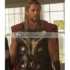 Avengers Age of Ultron Thor Leather Vest