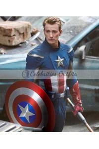 Avengers 4 Endgame Steve Rogers Captain America Leather Jacket