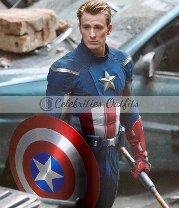 Avengers 4 Endgame Steve Rogers Captain America Leather Jacket