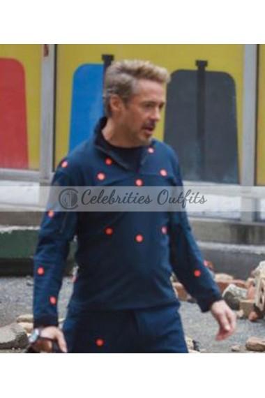 Avengers 4 Endgame Robert Downey Jr. Tony Stark Cotton Jacket