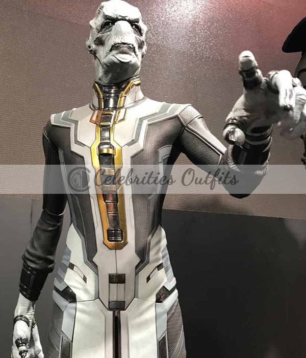 Ebony Maw Avengers Infinity War Tom Vaughan Leather Coat