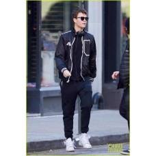 Ansel Elgort Baby Driver Black Jacket