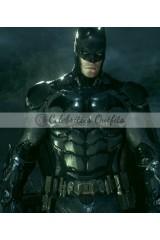 Batman Arkham Knight Bruce Wayne Black Leather Jacket