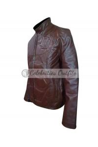 Ben Affleck Daredevil Red Leather Jacket Costume