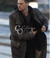 Karl Urban Bourne Supremacy Trench Leather Coat