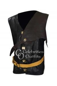 Chris Hemsworth Leather Vest The Huntsman Movie