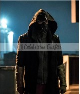 The Flash Season 5 Chris Klein Cicada Hooded Coat