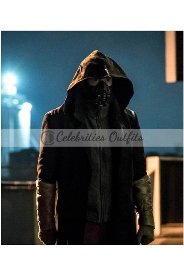 The Flash Season 5 Chris Klein Cicada Hooded Coat