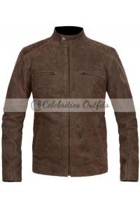 Captain America Chris Evans Civil War Brown Jacket