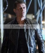 Cody Rhodes Arrow S7 Black Studded Jacket