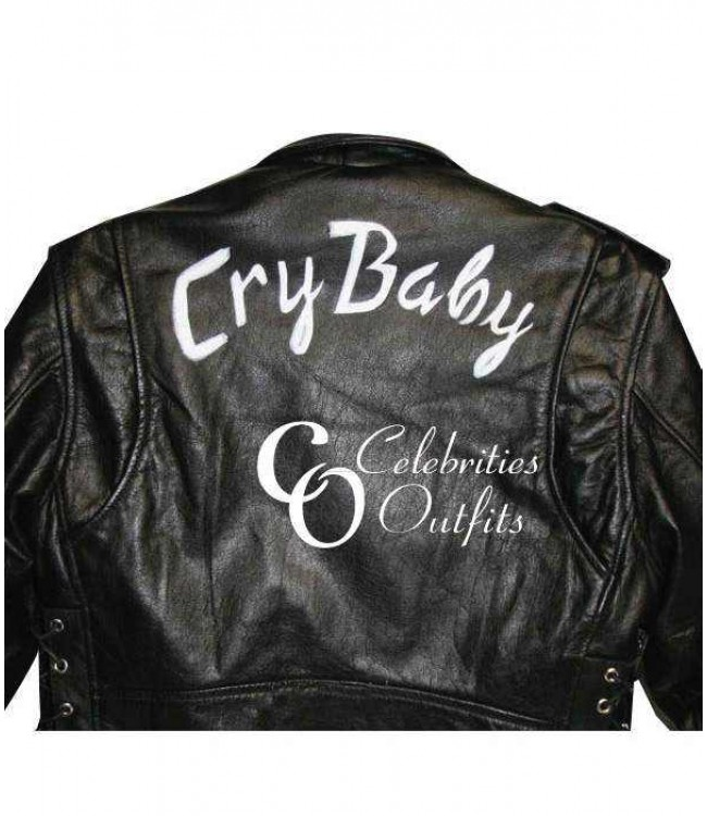 1b43db809 Cry-Baby Movie Johnny Depp Wade Walker Motorcycle Jacket