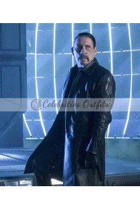 The Flash Danny Trejo Breacher Trench Coat