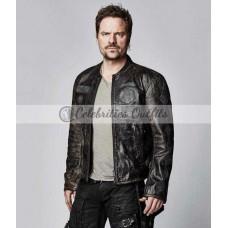 Anthony Lemke Dark Matter Distressed Leather Jacket