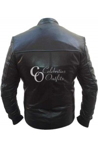 David Beckham Slim Fit Black Stylish Jacket