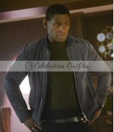 David Harewood Supergirl TV Series J'onn J'onzz Suede Jacket