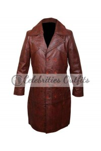 Will Smith Suicide Squad Deadshot Brown Jacket Coat