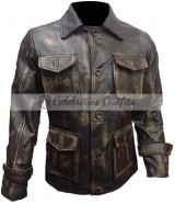 Jensen Ackles Supernatural Dean Winchester Distressed Jacket