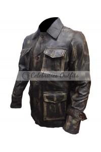 Jensen Ackles Supernatural Dean Winchester Distressed Jacket