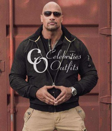 dwayne-johnson-black-authentic-cotton-jacket