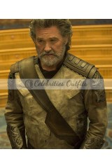 Ego Guardians Of The Galaxy 2 Kurt Russell Leather Jacket