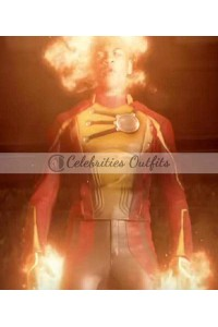 Legends Of Tomorrow Firestorm Leather Costume Jacket