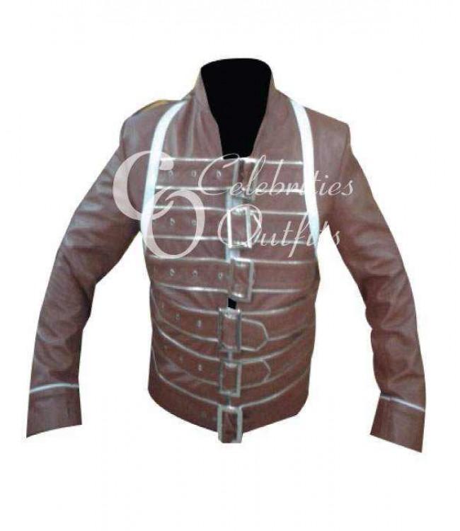 freddie-mercury-concert-brown-jacket