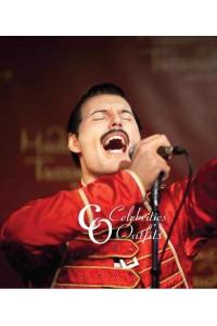 Freddie Mercury Concert Red Stylish Leather Jacket
