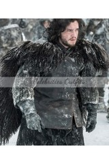 Kit Harington Game of Thrones Jon Snow Fur Hoodie