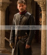 Nikolaj Coster Game Of Thrones Leather Coat