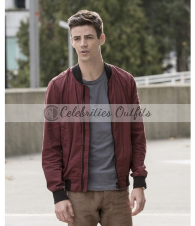 grant-gustin-flash-varsity-jacket