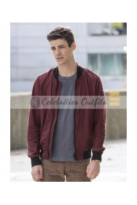 The Flash Grant Gustin Varsity Jacket