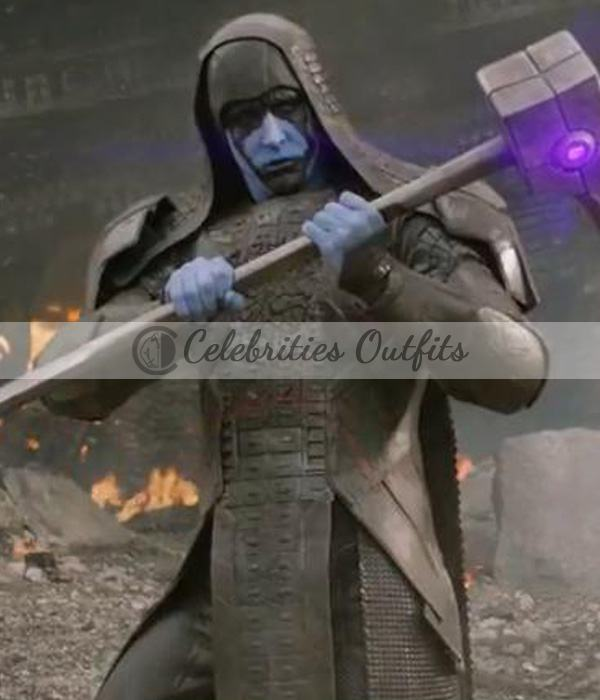 Ronan Guardians Of The Galaxy Lee Pace Leather Coat