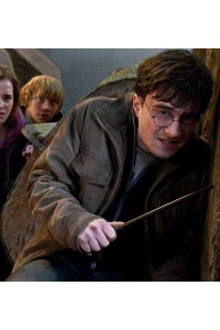 Harry Potter And The Deathly Hallows 2 Brown Jacket