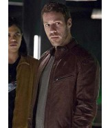 Flash Season 2 Carter Hall Brown Leather Jacket