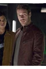 Flash Season 2 Carter Hall Brown Leather Jacket