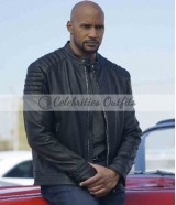 Henry Simmons Agents of Shield Alphonso Mack Mackenzie Leather Jacket