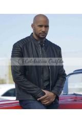 Henry Simmons Agents of Shield Alphonso Mack Mackenzie Leather Jacket