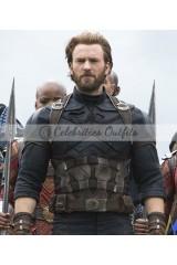 Avengers Captain America Infinity War Jacket