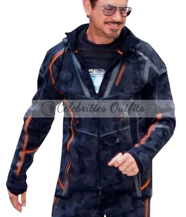Avengers Infinity War Iron Man Cotton Jacket