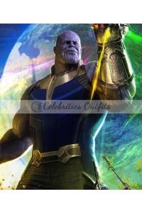 Avengers Infinity War Thanos Leather Vest