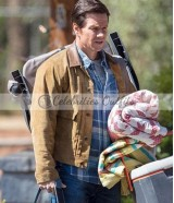 Instant Family Mark Wahlberg Suede Leather Jacket