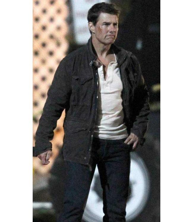 Tom Cruise Jack Reacher Never Go Back Set Cotton Jacket