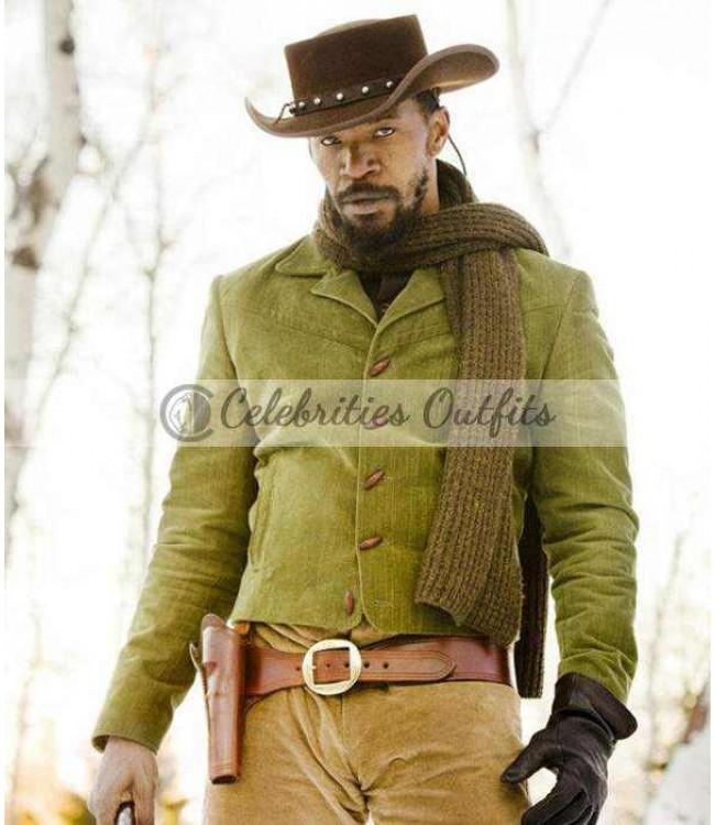 jamie-foxx-django-unchained-green-jacket