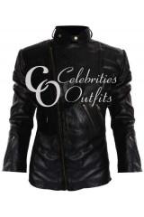 Staying Alive John Travolta Black Leather Jacket