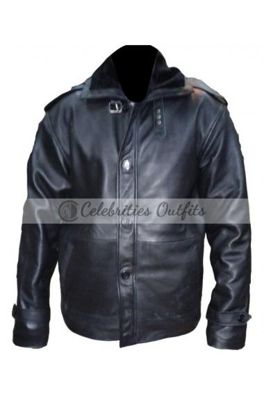 50 Cent The Kanan Tape Black Fur Coat Jacket