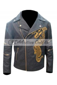 Suicide Squad Killer Croc Waylon Jones Dragon Jacket