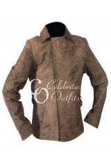 Escape From L.A. Kurt Russell Distressed Jacket