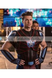 Legends of Tomorrow Commander Steel Leather Vest