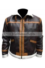 Resident Evil 4 Leon Kennedy Cosplay Bomber Gaming Jacket